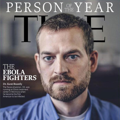 Dr. Kent Brantly - Ebola Survivor and Time Magazine Person of the Year