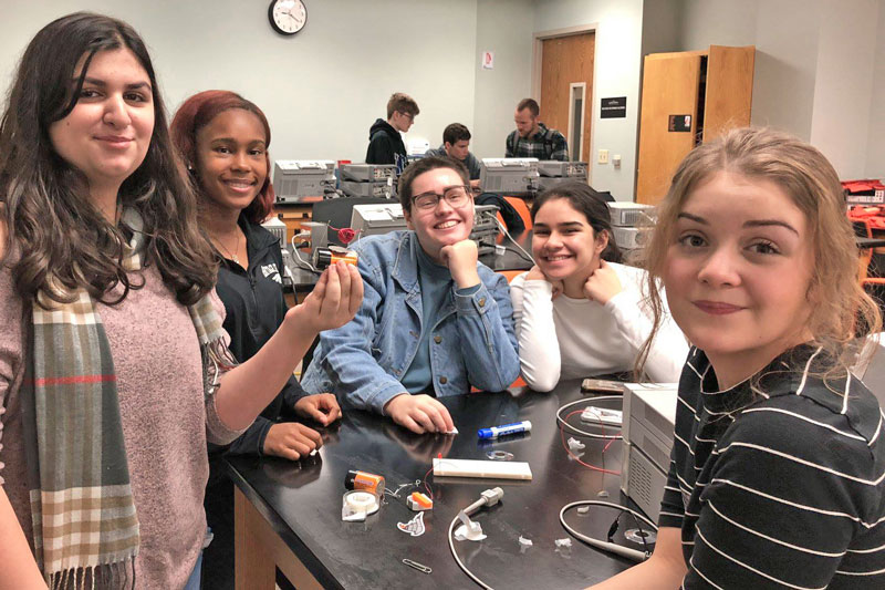 STEM Class at Anderson University