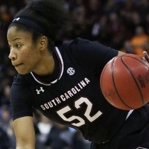 Tyasha Harris - Standout College Basketball Player at University of South Carolina