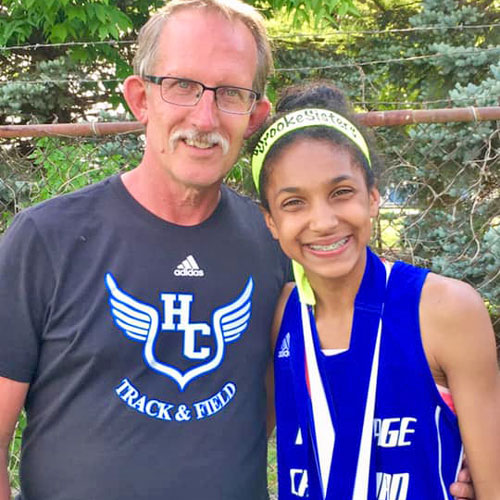 Middle School Student Wins First Place in Long Jump and Breaks School Record