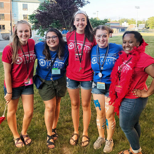 Heritage Students Selected To Attend Week-Long Girls State Event