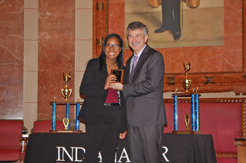 Mock Trial Students Receive Awards at State Finals