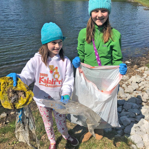 4th Graders Celebrate Earth Day at Home