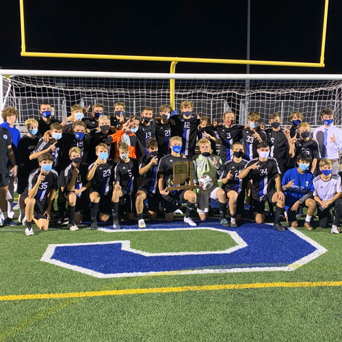 Varsity Boys Soccer Wins Sectionals