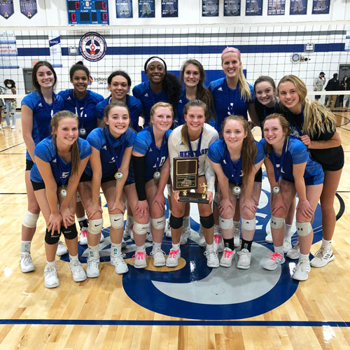Varsity Volleyball Wins City Tournament