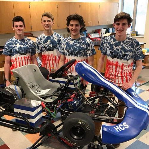 Heritage Go-Kart Team Competes in the evGrand Prix
