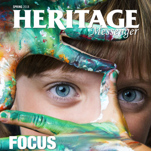 Check Out The Spring 2018 Issue Of Our Messenger Magazine
