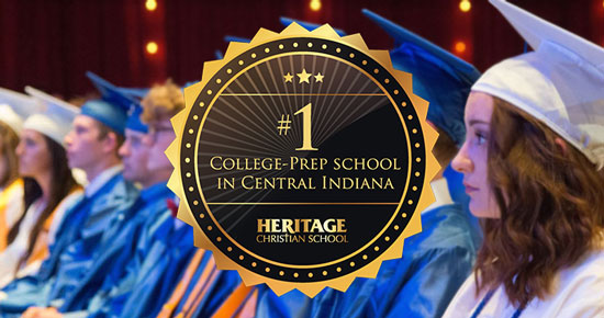 HCS Named #1 College-Prep School In Central Indiana